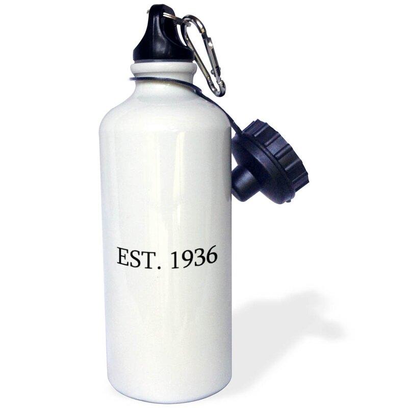 Est...21 oz Stainless Steel Water Bottle
