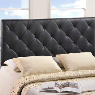 Arabi Upholstered Panel Headboard by Charlton Home