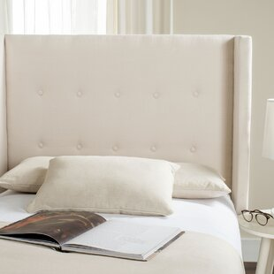 Darby Home Co Yale Upholstered Wingback Headboard