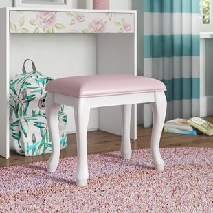 Inexpensive Whitney Caroline Vanity Stool By Viv + Rae
