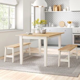 Saxon Dining Set With 2 Benches By Zipcode Design