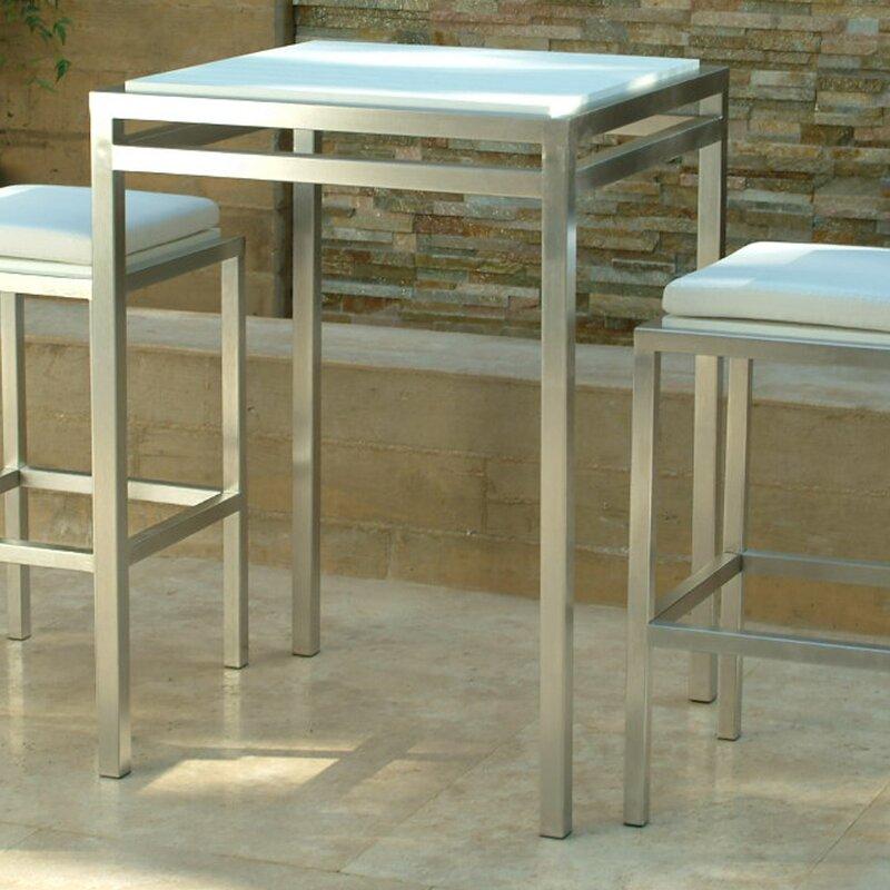 Modern Outdoor Talt Bar Table Wayfair