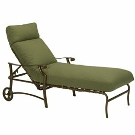 Montreux II Reclining Chaise Lounge with Cushion