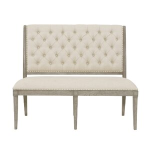 Marquesa Upholstered Banquette Bench by Bernhardt