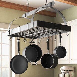 Kitchen Island Pot Racks You Ll Love In 2021 Wayfair