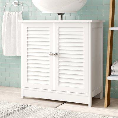60 cm freistehender Waschbeckenunterschrank Natalie | Bad > Badmöbel > Waschbeckenunterschränke | Haus am Meer