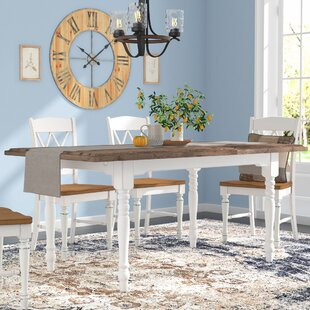 Gracie Oaks Fallston Extendable Dining Ta..