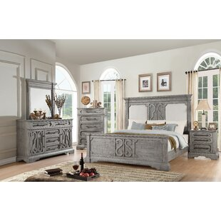 Freya Upholstered Panel Configurable Bedroom Set