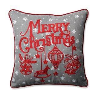 Ornamental Christmas Throw Pillow