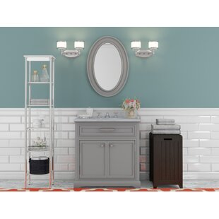 Bergin 30 Single Sink Bathroom Vanity Set with Mirror and Faucet ByThree Posts