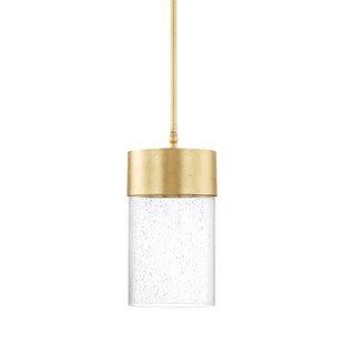 Mercury Row Depaz 1-Light Cylinder Pendant