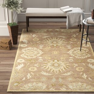 Phoebe Hand-Tufted Wool Capuccino Area Rug by Birch Lane™ Heritage