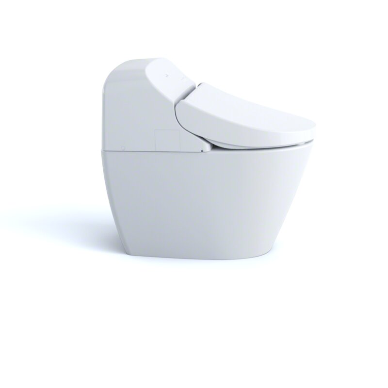 Washlet G400 Integrated Dual Flush Elongated Floor Mounted Toilet (Seat  Included)