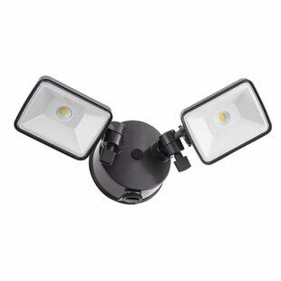 OFL 26-Watt LED Outdoor Security Flood Light with Motion Sensor