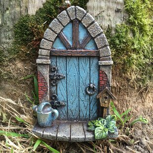 Shultz Mini Arched Fairy Garden Door By Brambly Cottage