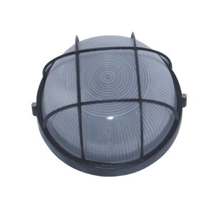 Wittrock Outdoor Bulkhead Light by Breakwater Bay