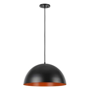 1-Light Dome Pendant by As..