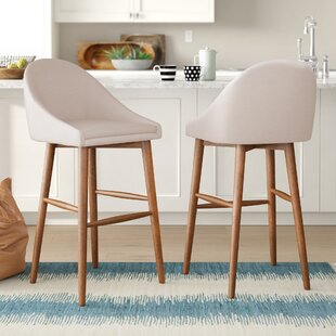 Prism 29 Bar Stool (Set of 2) Mercury Row