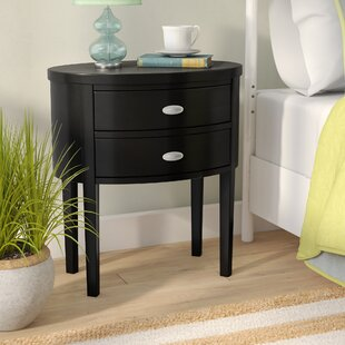 Shop For Rossiter 2 Drawer Nightstand by Beachcrest Home
