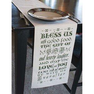 Bless Us Table Runner