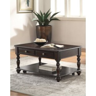 Darby Home Co Kezar Coffee Table with Storage