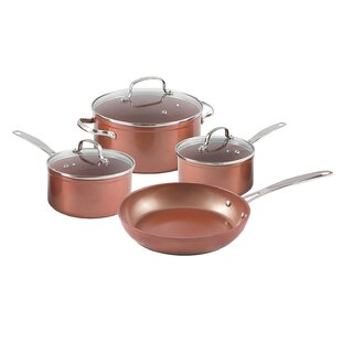 7 Piece Forged Non-Stick Cookware Set