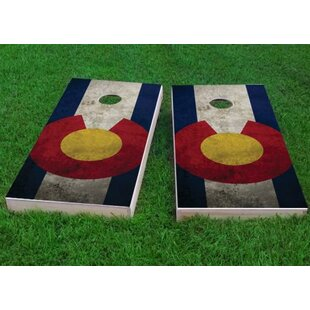 Custom Cornhole Boards Worn Co..