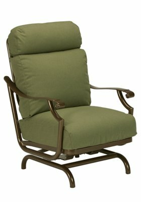 Tropitone Montreux Action Patio Chair With Cushions Wayfair