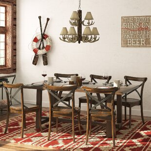Massanutten 7 Piece Dining Set by Loon Peak