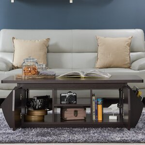 Suruga Storage Coffee Table with Magazine Rack by Brayden Studio