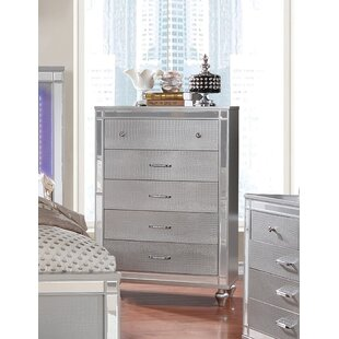 Meserve Contemporary 5 Drawer Chest