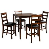 Ashur 5 - Piece Counter Height Dining Set by Red Barrel Studio®