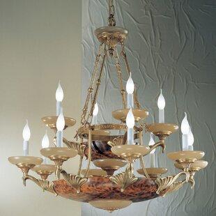 Classic Lighting Queen Anne II 14-Light Chandelier