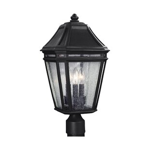 Maxine Outdoor 3-Light Lantern Head