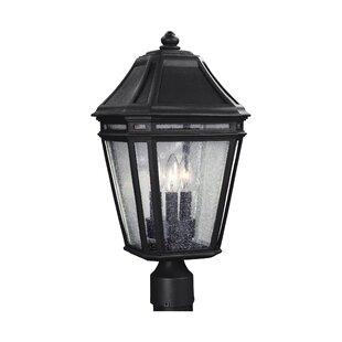 Maxine Outdoor 3-Light Lantern Head