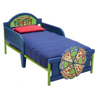 Ninja Turtles Convertible Toddler Bed