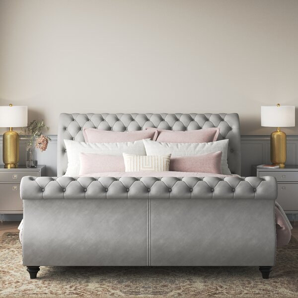 Ledelle King Sleigh Bed Wayfair