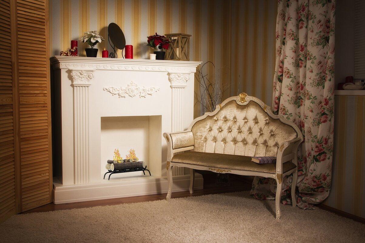 RegalFlame Convert to Ethanol Fireplace Log Set with Burner Insert ...