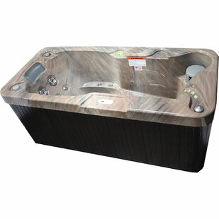 1-Person 19-Jet Plug And Play Hot Tub By Hudson Bay Spas