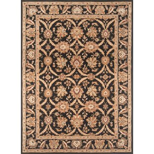 Best Reviews Meadow View Handmade Black/Black Area Rug ByContinental Rug Company