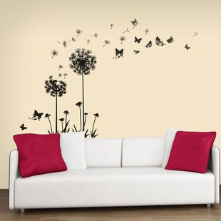 Amazing Transparent Dandelion Wall Decal