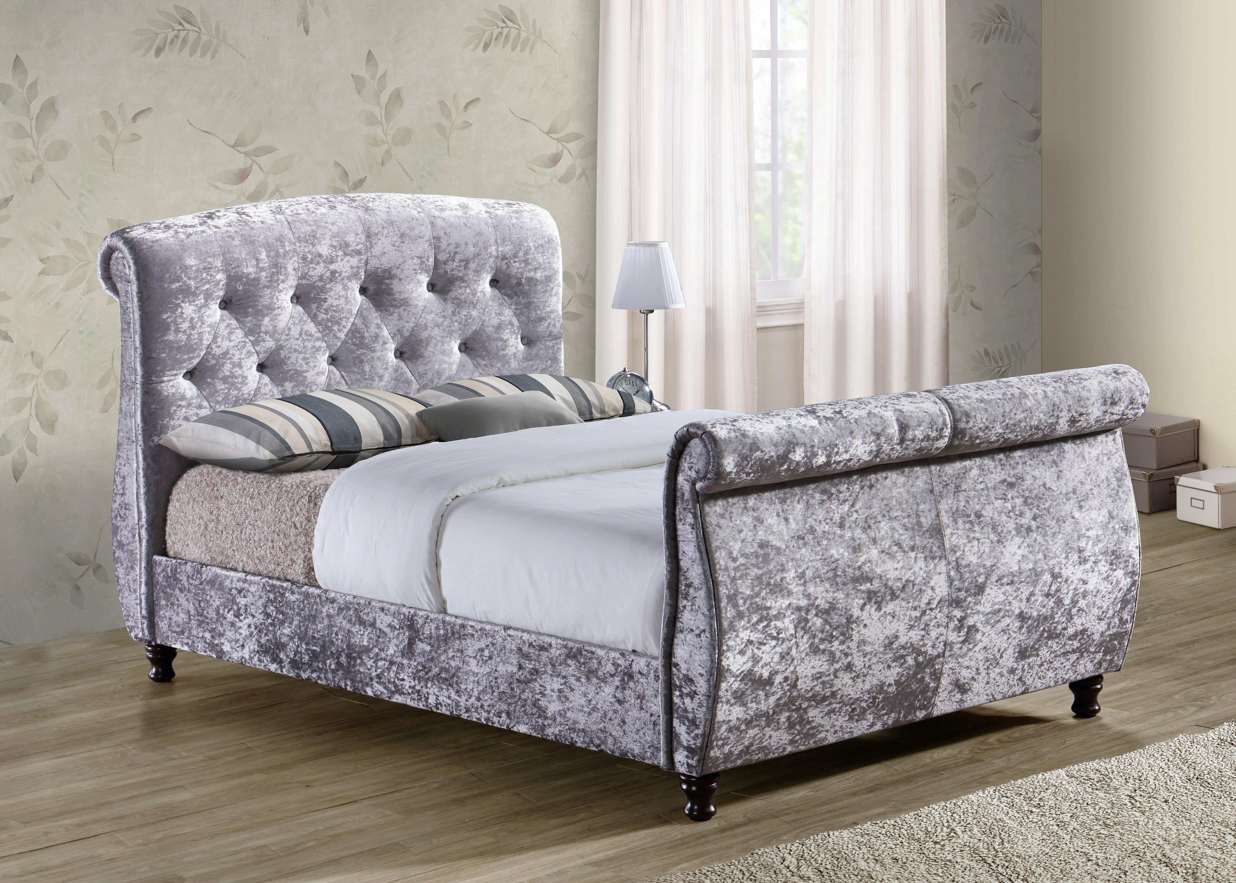 astoria sleigh upholstered grand murillo pdx bed transitional wayfair furniture