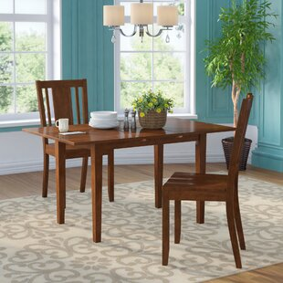Hunsinger 3 Piece Dining Set by Three Posts