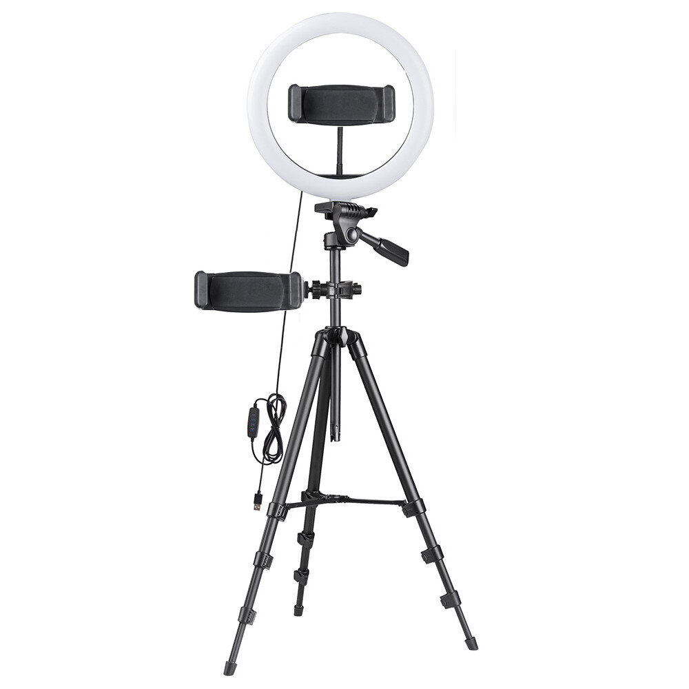 Flourescent Dimmable Photography Ring Light 14 For Live Stream Video