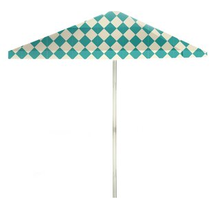 6' Square Market Umbrella by Best of Times Spacial Price