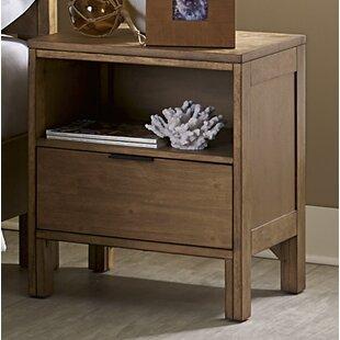 Mercury Row Hosier 2 Drawer Nightstand
