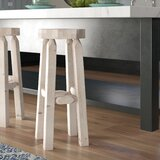 Abella Solid Wood 30 Bar Stool by Loon Peak®