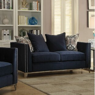 Stokes Loveseat by Everly Quinn Cool