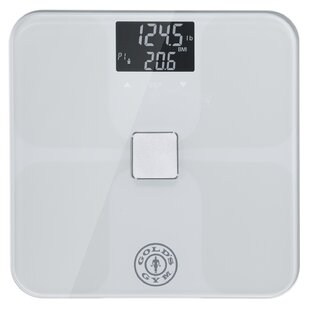 Read Reviews Digital Tempered Glass Bathroom Body Weight Scale ByGold's Gym