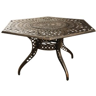 Cashion Metal Dining Table by Fleur De Li..
